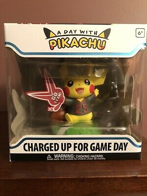 FUNKO A DAY With PIKACHU CHARGED UP FOR GAME DAY POKEMON