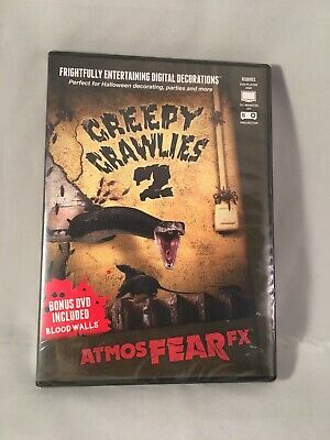 AtmosFEARfx Creepy Crawlies 2 Halloween Digital Decorations DVD NIP