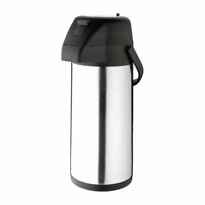 Olympia Pump Action Airpot Stainless Steel Push Button  3 Litre