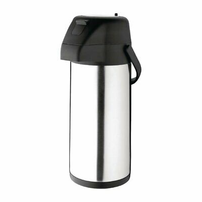 Olympia Pump Action Airpot Stainless Steel Push Button3 Litre