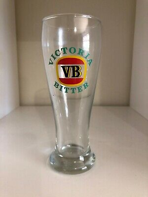 Victoria Bitter VB Pyro Beer Glass