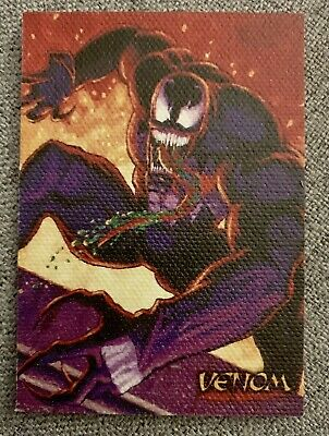 Spider-Man Premium '96 Canvas Card #6 Venom