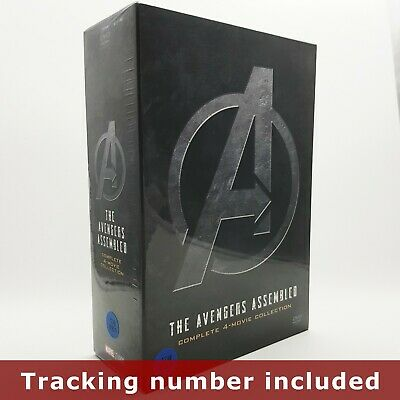 (Presale) The Avengers Assembled - DVD Complete 4-Movie Collection Box Set