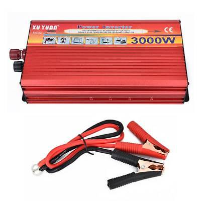 Car Solar Power Inverter 6000W 12V DC to 220V AC Modified Sine Wave Converter
