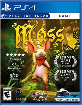 New! Moss PS4 VR Digital Code Email Delivery (PS4 VR Required)