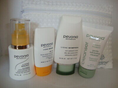 Pevonia - Your Skincare Solution Safe Sun Face & Body -BNIB- INC TOILETRY BAG