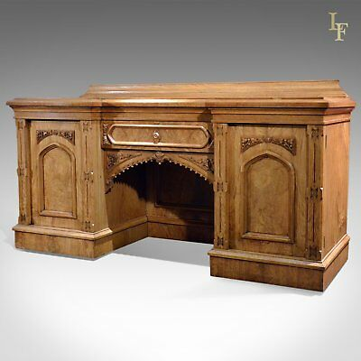 Large Antique Sideboard Buffet, Victorian c.1880