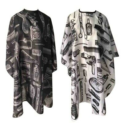 2Colors Adult/Kids Salon Barber Gown Cape Hairdressing Hairdresser Hair Cutting