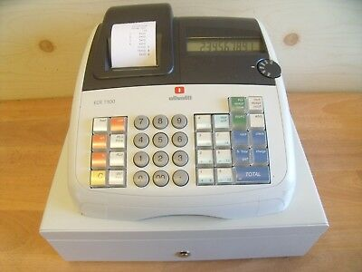Easy To Use Olivetti Cash Register Shop Till Fantastic Condition & Free Spares