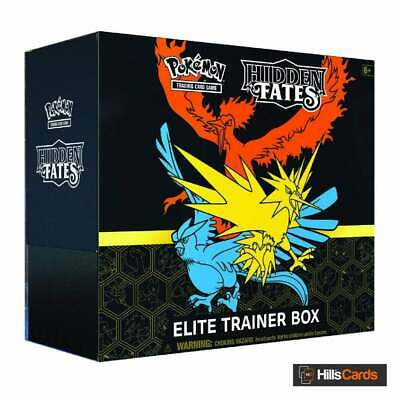 Hidden Fates Elite Trainer Box | Pokemon Trading Card Game | Booster Packs +More