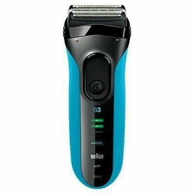 Braun Series 3 ProSkin 3040s Rechargeable Wet and Dry Electric Shaver - Blue