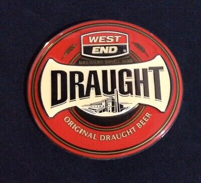 West End Draught Beer Tap Badge