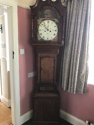 Large Grandfather Clock Cooke and co Nottingham.