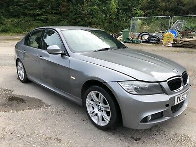 2010 (60) BMW 320d M SPORT SALOON SPARES OR REPAIRS WORTH DOUBLE FIXED