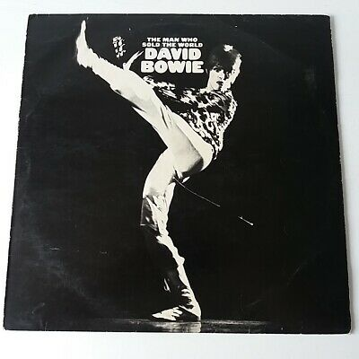 David Bowie - The Man Who Sold the World - Vinyl LP UK 1973 Press + Inner