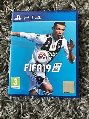 FIFA 19 - Standard Edition (Sony PlayStation 4, 2018) Disc Only