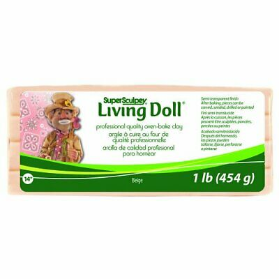 Polyform products company super sculpey living doll clay 1 pound beige 13 (ewO)