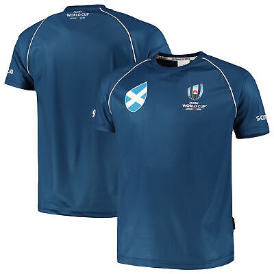Fanatics Official Mens Rugby World Cup 2019 Scotland T-Shirt Tee Top