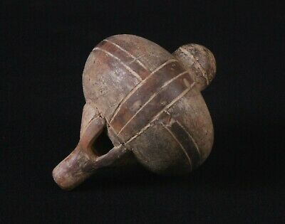 Pre-Columbian Costa Rica Sphere Ocarina Flute Whistle , Ex. Dr. Solem Collection