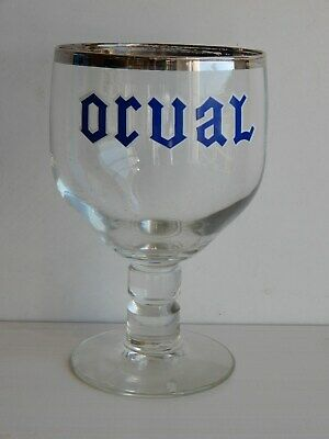 Joli ancien verre de collection Orval