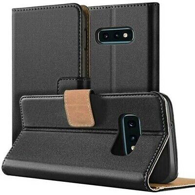 Mobile Phone Pouch Case Book Case Flip Cover Wallet Case Phone Cover Black