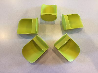 Tupperware New Rnd Flour Rocker Scoop Scoops Margarita Green