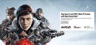 Xbox Game Pass for PC 100+ Games for 3 Month: Redeem on AMD Ryzen/Radeon only!