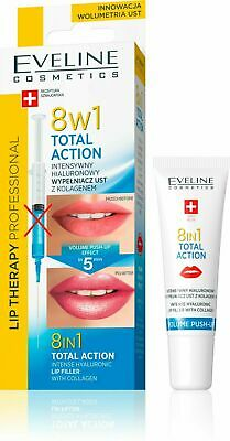 Eveline LIP THERAPY 8in1 Intense Hyaluronic Lip Filler with Collagen 12ml
