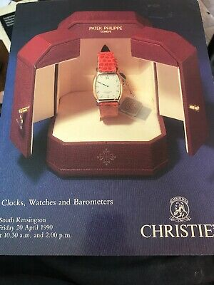 Christie's Clocks Watches and Barometers April 20 1990 Catalog