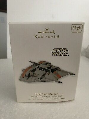 NEW 2010 Rebel Snowspeeder Hallmark Ornament Star Wars The Empire Strikes Back