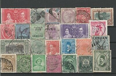 UK British Colonies Commonwealth & British Empire Fine Mint & used Stamps N1992