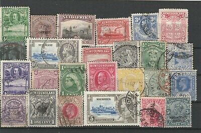 UK British Colonies Commonwealth & British Empire Fine Mint & used Stamps N1986