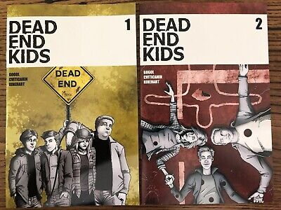 Dead End Kids #1 & 2 Set (Source Point 2019) 1st Prints! Sold Out! See Pics!