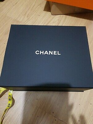 Chanel Magnetic Empty Box authentic size 33x26.5x12.5cm