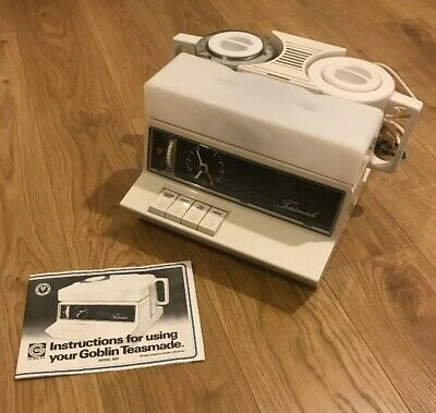 1980's Goblin Teasmade 860 Vintage Retro  Fully Working With Instructions
