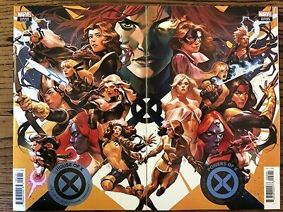 House Of X #2 & Powers Of X #2 Putri Variant Connecting Set!🔥NM, See Pics!