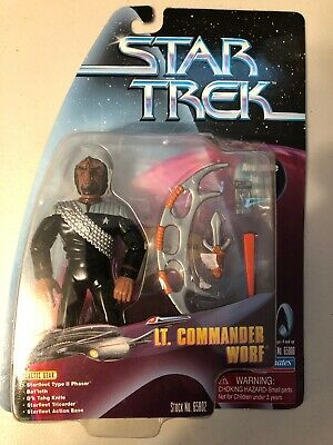 Vintage Playmates 1999 Star Trek Action Figure Lt Commander Worf Target Exclusiv