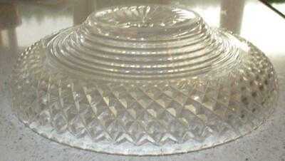 19Th Century English Cut Glass Bowl For A Silver Plated Centerpiece