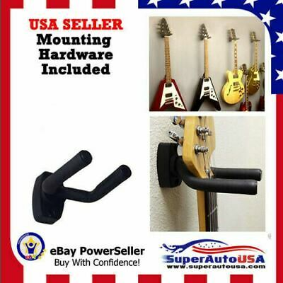 2/3/4 PACK Guitar Hanger Hook Holder Wall Mount Display Acoustic Electric US