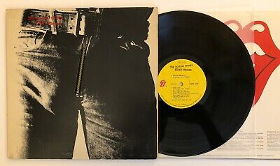 Rolling Stones - Sticky Fingers - 1971 US 1st Press Zipper Cover COC 59100 VG++