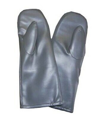 "Pair of Palm Guard Radiation Shielding Protection Mittens, No Slit, 15"" - PGP"