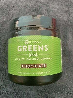 It Works! Greens Blend Chocolate - Sealed