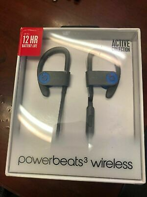 Authentic Beats by Dr. Dre Powerbeats3 Wireless In Ear Headphones - Flash Blue