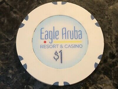 $1 Eagle Aruba Resort and Casino New Issue Chips Formerly The Trop