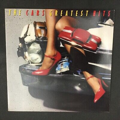 The Cars-Greatest Hits-1985 Electra 60464-1-E Rik Ocasek Played Nm Sterling