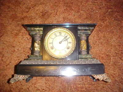 Old Waterbury Mantel Clock Not Tested
