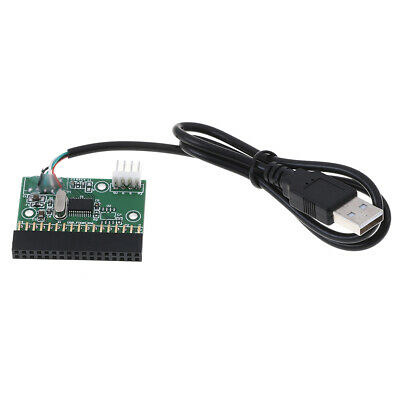 """1.44MB 3.5"""" floppy drive connector 34 PIN 34P to USB cable adapter PCB boardEO"""