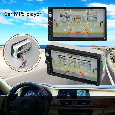 "7"" TFT Touch Screen 1DIN Android GPS Navigator 1080P Autoradio USB/TF/AUX Tq"