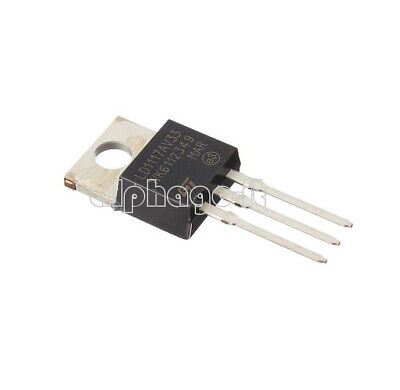 2PCS LD1117V33 Linear Voltage Regulator 3.3V 800mA TO-220 NEW