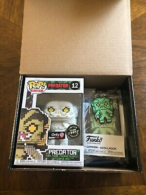FUNKO POP 8 BIT PREDATOR GLOW IN THE DARK CHASE GAMESTOP EXCL BF2017 Mystery Box